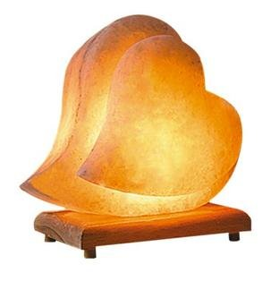 Himalayan-Salt-Lamp-Ionic-Air-Purifier-Hand-Carved-Romantic-Heart-Shaped-Rock-Crystal-on-Neem-Wood-Base-Enjoy-this-Eco-Friendly-Work-of-Art-0