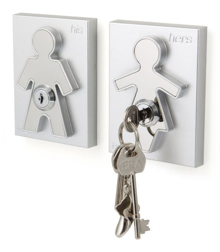 His-and-Her-Key-Holders-Key-Hooks-for-Couples-Wall-Mounted-Decorative-Key-Holders-0-0