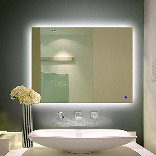 Holiday-Bonus-HansAlice-Brand-New-LED-Wall-Vanity-Mirror-Lighted-Backlit-Bathroom-Silvered-Mirror-3224-0