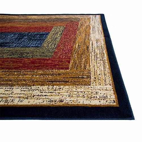 Home-Dynamix-Royalty-41018-450-Polypropylene-7-Feet-8-Inch-by-10-Feet-4-Inch-Area-Rug-Black-0-0