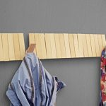 Home-Moda-Piano-Wall-Mounted-CoatRack-with-Space-Saving-29-Hooks-for-Coats-BagsShirts-Purses-HatsAccessories-and-More-Pine-Wood-0-1