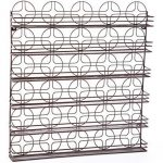 Home-it-Nail-Polish-Rack-Nail-Polish-Organizer-Holds-up-to-102-Bottles-Metal-Frame-Unbreakable-Color-Bronze-0