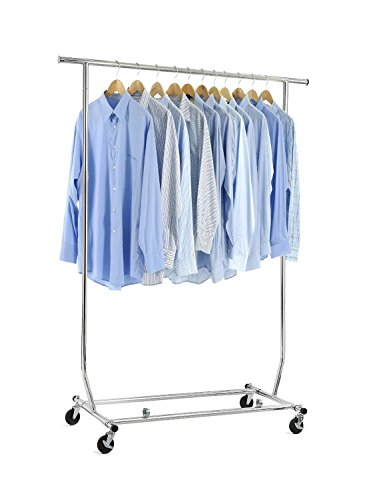 Home-it-clothes-rack-heavy-duty-commercial-grade-chrome-clothes-rail-for-Clothing-Garment-Rack-Adjustable-clothing-rack-clothing-rail-0