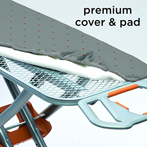 Homz-Durabilt-DX1500-Premium-Ironing-Board-with-Wide-Leg-Stability-Adjustable-up-to-395-Gray-and-Orange-4750150-0-0