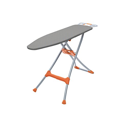 Homz-Durabilt-DX1500-Premium-Ironing-Board-with-Wide-Leg-Stability-Adjustable-up-to-395-Gray-and-Orange-4750150-0