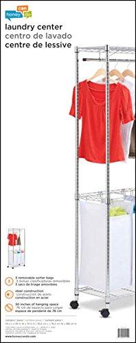 Honey-Can-Do-Heavy-Duty-Quad-Rolling-Laundry-SorterHamper-0-0
