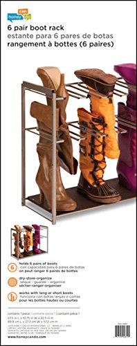 Honey-Can-Do-SHO-02812-Steel-Frame-6-Pair-Boot-Rack-Organizer-0-1