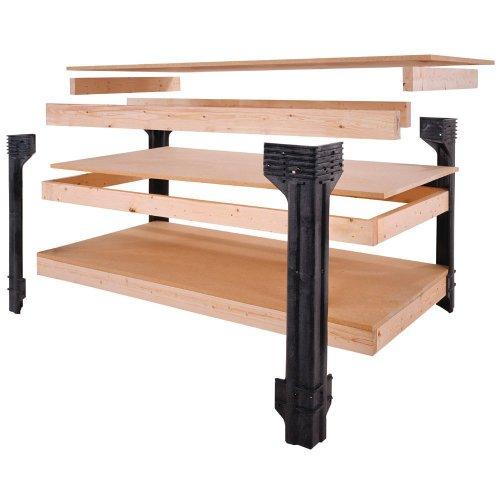 Hopkins-90164-2x4basics-Workbench-and-Shelving-Storage-System-0-0