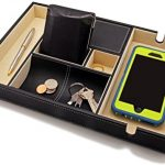 HoundsBay-Big-Valet-Tray-with-Large-Smartphone-Charging-Compartment-0-0