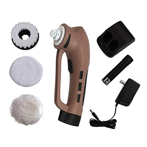 Household-Electric-Shoe-Mini-Polisher-with-Rechargeable-Battery-Hand-Held-Portable-Leather-Shine-Kit-Brown-0-1