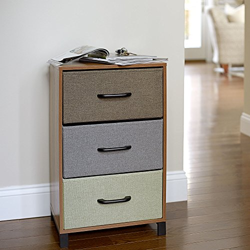 Household-Essentials-3-Drawer-Wooden-Storage-Chest-Honey-Maple-0-0