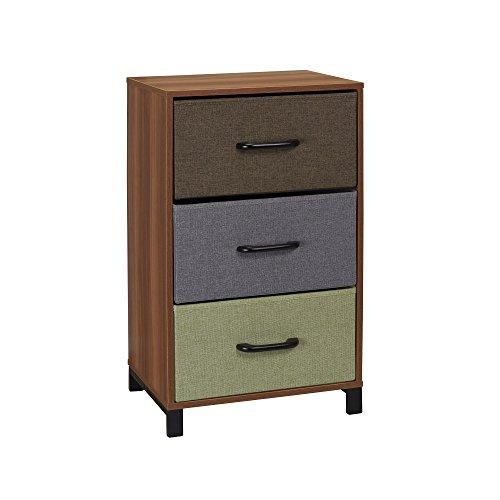 Household-Essentials-3-Drawer-Wooden-Storage-Chest-Honey-Maple-0