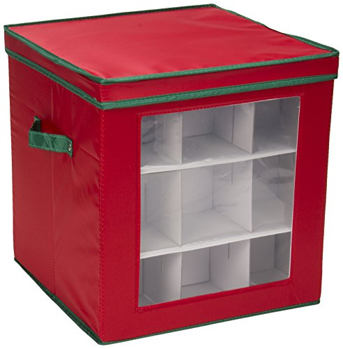 Household-Essentials-Holiday-Storage-Box-Red-with-Green-0