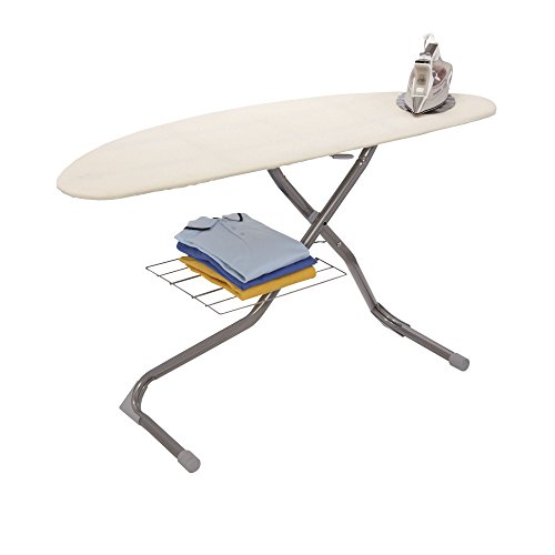 Household-Essentials-Italian-Halfmoon-Ironing-Board-Silver-0-0