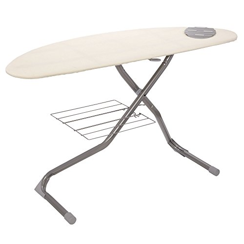 Household-Essentials-Italian-Halfmoon-Ironing-Board-Silver-0
