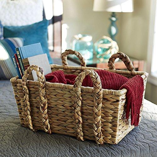 Household-Essentials-Large-Rectangular-Floor-Storage-Basket-with-Braided-Handles-0-0