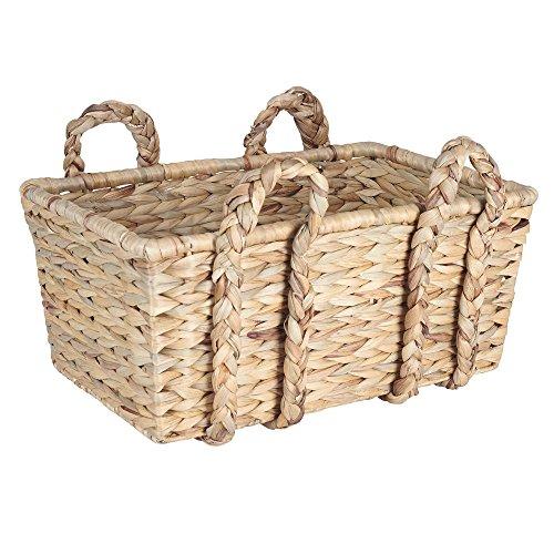 Household-Essentials-Large-Rectangular-Floor-Storage-Basket-with-Braided-Handles-0
