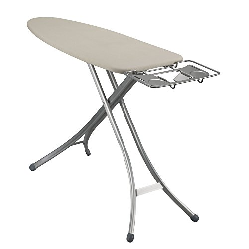 Household-Essentials-Mega-Top-4-Leg-Aluminum-Ironing-Board-with-Natural-Cotton-Cover-0