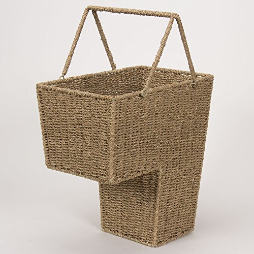 Household-Essentials-Seagrass-Stair-Basket-with-Handle-0-0