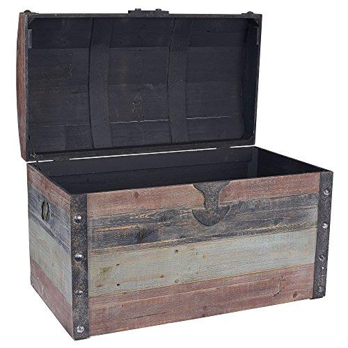 Household-Essentials-Stripped-Weathered-Wooden-Storage-Trunk-0-0