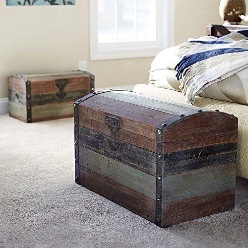 Household-Essentials-Stripped-Weathered-Wooden-Storage-Trunk-0-1