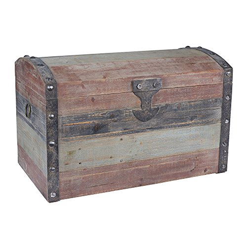 Household-Essentials-Stripped-Weathered-Wooden-Storage-Trunk-0