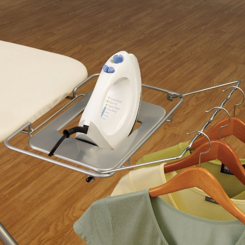 Household-Essentials-Wide-Top-4-Leg-Mega-Pressing-Station-Ironing-Board-with-Natural-Cotton-Cover-0-0