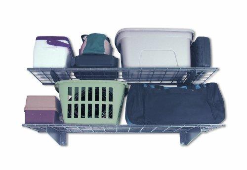 HyLoft-00651-45-Inch-by-15-Inch-Wall-Shelf-Hammertone-2-Pack-0-0