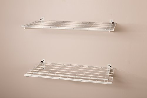 HyLoft-00777-36-by-18-Inch-Wall-Shelf-with-Hanging-Rod-2-Pack-0-0