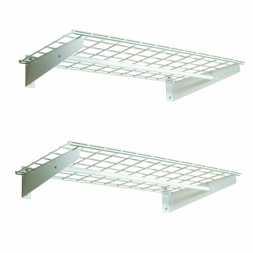 HyLoft-00777-36-by-18-Inch-Wall-Shelf-with-Hanging-Rod-2-Pack-0