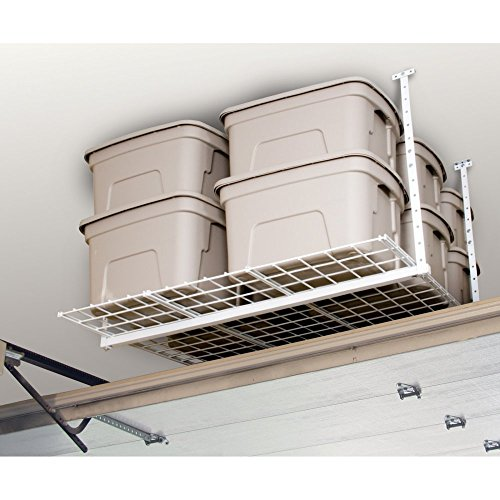 HyLoft-540-45-Inch-by-45-Inch-Overhead-Storage-System-White-0