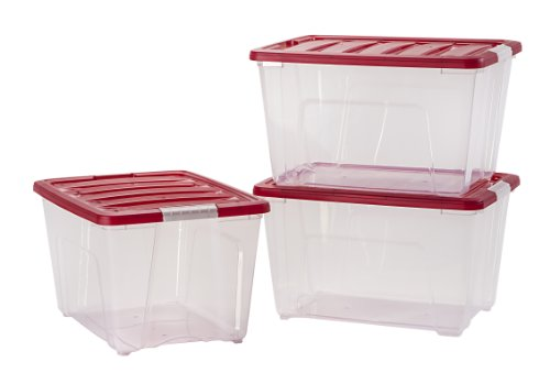 IRIS-3-Piece-Holiday-Plastic-Storage-Set-5365-Quart-0-0