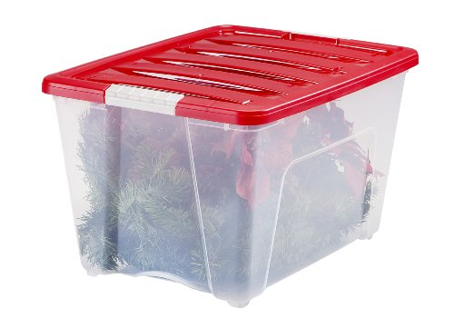 IRIS-3-Piece-Holiday-Plastic-Storage-Set-5365-Quart-0-1