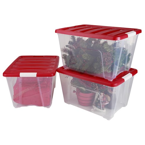 IRIS-3-Piece-Holiday-Plastic-Storage-Set-5365-Quart-0