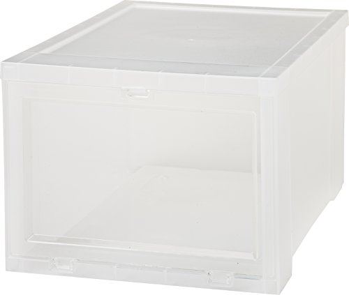 IRIS-Small-Drop-Front-Shoe-Box-Clear-0