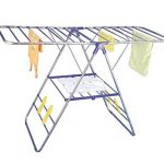Idee-PDR01E-Rust-proof-Stainless-Steel-Collapsible-Laundry-Drying-Rack-58x24x40-Inches-0-1