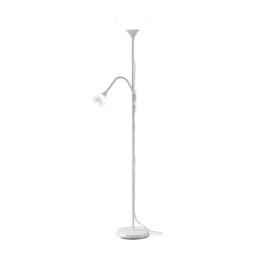 Ikea-30145129-Floor-UplightReading-Lamp-White-0