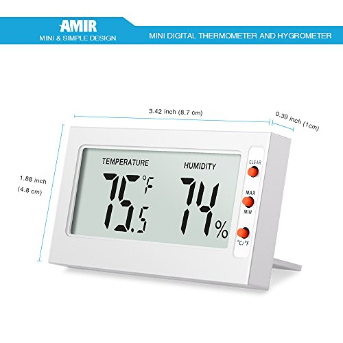 Indoor-Humidity-Thermometer-Monitor-Sensor-Amir-Digital-Thermometer-Hygrometer-and-Humidity-Gauge-Accurate-Readings-CF-MinMax-Records-For-Cars-Home-Office-0-0