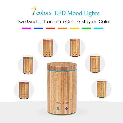InnoGear-Real-Bamboo-Essential-Oil-Diffuser-Ultrasonic-Aromatherapy-Diffusers-with-7-LED-Colorful-Lights-and-Waterless-Auto-Shut-off-0-0