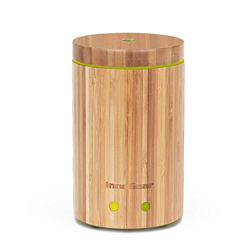 InnoGear-Real-Bamboo-Essential-Oil-Diffuser-Ultrasonic-Aromatherapy-Diffusers-with-7-LED-Colorful-Lights-and-Waterless-Auto-Shut-off-0
