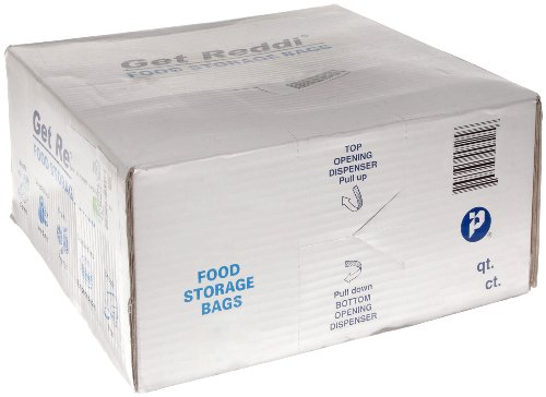 Inteplast-Group-PB080418R-Get-Reddi-Food-Poly-Bag-8-x-4-x-18-8-Quart-068-Mil-Clear-Case-of-1000-0