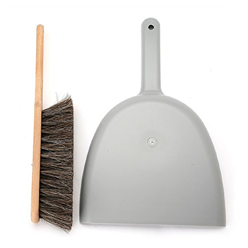 Iris-Hantverk-Dustpan-Brush-Set-Handmade-Grey-0-0