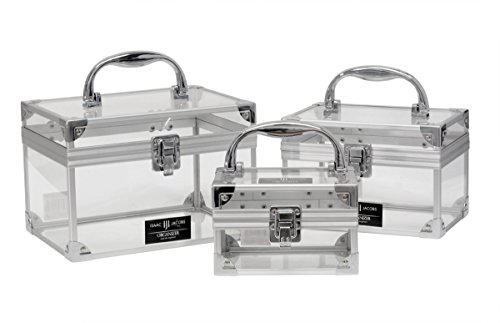 Isaac-Jacobs-Clear-Acrylic-Train-Box-Storage-Set-Includes-Small-Medium-Large-0