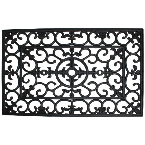 J-M-Home-Fashions-Wrought-Iron-Natural-Rubber-Doormat-0