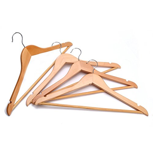 JS-Hanger-Solid-Wooden-Suit-Hangers-Natural-Finish-with-Anti-rust-Hooks-and-Non-slip-Bar-20-Pack-0-1