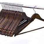 JS-Hanger-Solid-Wooden-Suit-Hangers-Retro-Finish-with-Anti-rust-Hooks-and-Non-slip-Bar-20-Pack-0-0