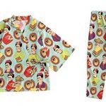 Japanese-style-Pajamas-Womens-AutumnWinter-Cotton-Kimono-Pajamas-Bathrobe-0