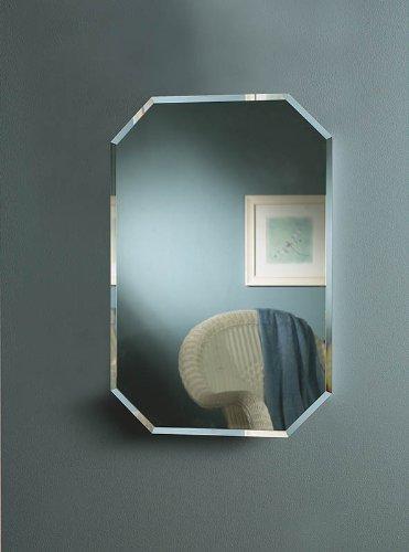 Jensen-1454-Mirage-Octagonal-Frameless-Medicine-Cabinet-with-Beveled-Mirror-0-0