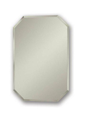 Jensen-1454-Mirage-Octagonal-Frameless-Medicine-Cabinet-with-Beveled-Mirror-0