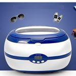Jewelry-Cleaner-Ultrasonic-cleaning-Machine-for-JewelryEyeglassesWatchesRingsNecklacesBraceletsankletsRazorsDenturesmouth-guardToothbrushmechanism-Parts-by-Mikayoo600ml-0-0